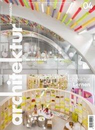 architektur Fachmagazin Ausgabe 4 2019