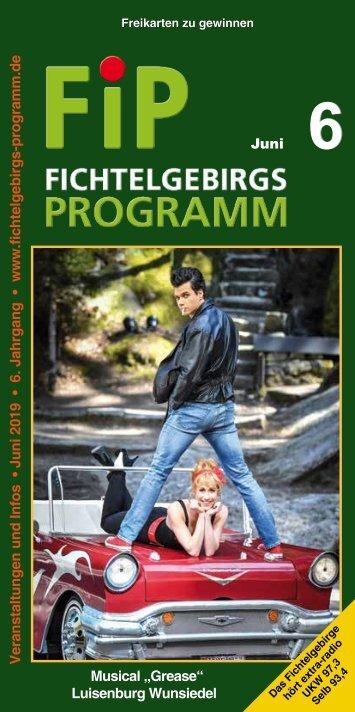 Fichtelgebirgs-Programm - Juni 2019