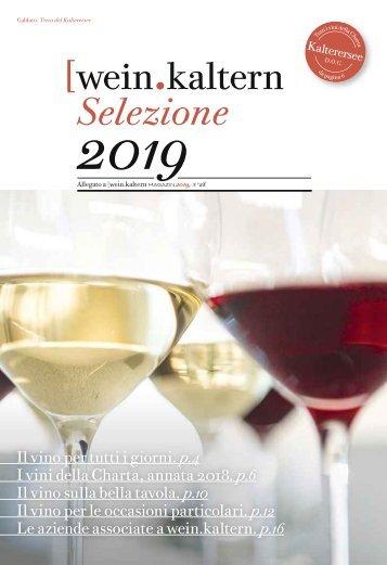 wein.kaltern Selezione Vini 2019