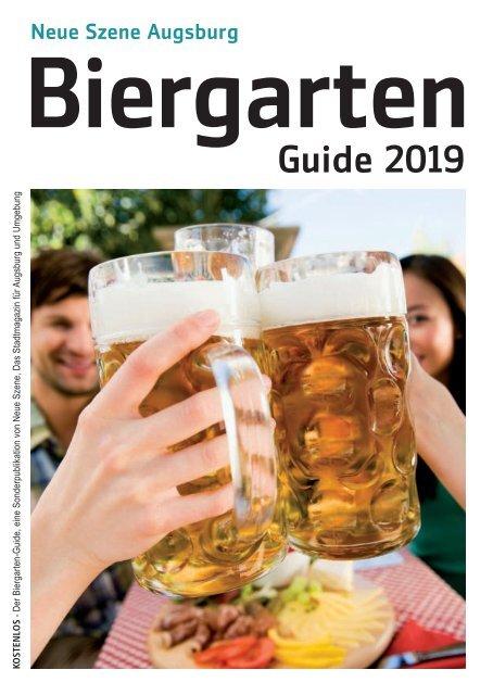 Biergarten-Guide Augsburg 2019