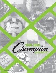 Champion Sports Catalog 2020