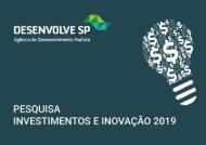 Pesquisa Investimentos e Inovacao 2019
