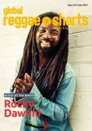 Global Reggae Charts - Issue #24 / May 2019