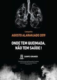 Panfleto Agosto Alaranjado - 2019