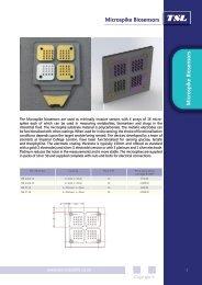 Microspike Biosensors