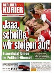 Berliner Kurier 28.05.2019