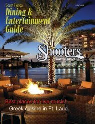 Dining and Entertainment Guide