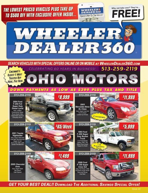 Wheeler Dealer 360 Issue 22, 2019