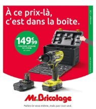 Mr Bricolage catalogue 29 mai-9 juin 2019