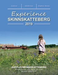 Experience Skinnskatteberg 2019