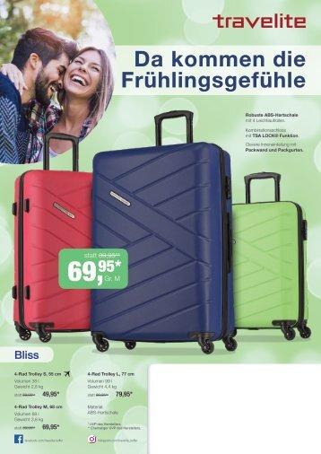 travelite Frühjahrsflyer