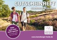 Gutscheinheft Lüneburger Heide 2019