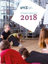 Tätigkeitsbericht Stiftung EVZ 2018
