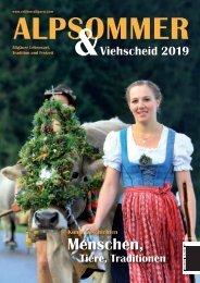 Alpsommer und Viehscheid 2019