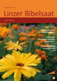Linzer Bibelsaat 149 (Juni 2019)