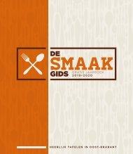 1922 De Smaakgids Oost-Brabant 2019-2020