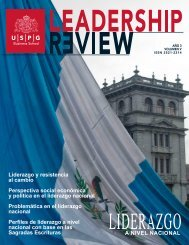 Leadership Review Junio 2019