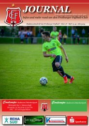 FFC-Journal, Heft 13 - FFC - SV 08 Kuppenheim