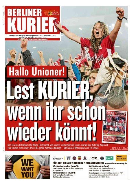 Berliner Kurier 29.05.2019