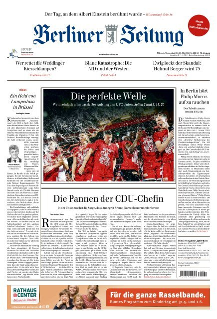 Berliner Zeitung 29.05.2019