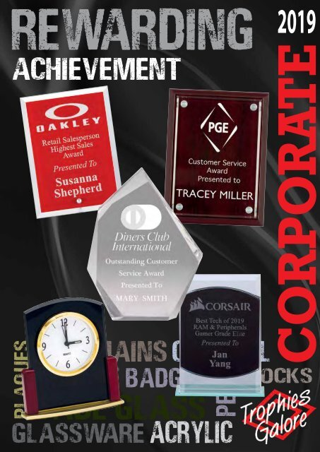 Trophies Galore Corporate 2019