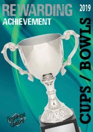 Trophies Galore Cups and Bowls 2019
