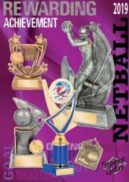 Trophies Galore Netball 2019