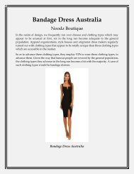 Bandage Dress Australia