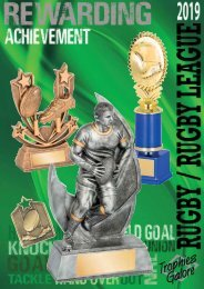 Trophies Galore Rugby 2019