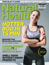 Natural Health  April 2019
