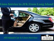 Limo Service to JFK From Long Island