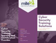 Cyber Security Training and Career Development