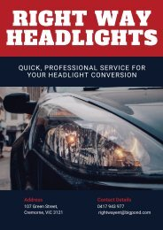 Need To Go for LED Headlight Conversion