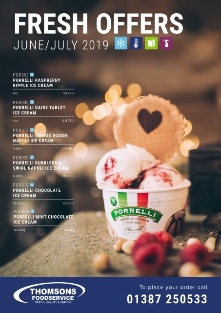Thomsons Foodservice Fresh Offers June/July 2019