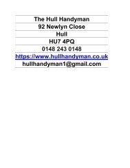 The Hull Handyma1