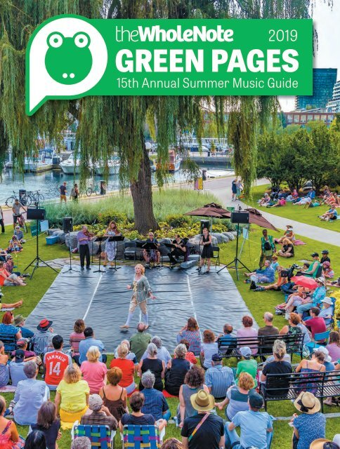 Green Pages | 15th Annual Summer Music Guide
