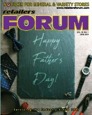 Retailers Forum Magazine - June 2019 EMAG