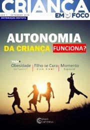 1º Edição Revista Criança em Foco - Autonomia da Criança, Funciona