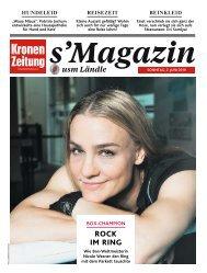s'Magazin usm Ländle, 2. Juni 2019