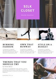 newsletter template 3