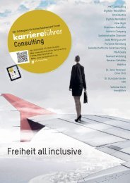 karriereführer consulting 2019-2020 – Freiheit all inclusive