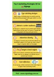 Top 5 marketing Strategies Of Car Signage