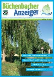 Juni 2019 - Büchenbacher Anzeiger