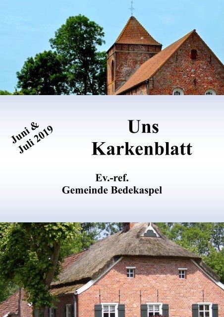 Uns Karkenblatt Juni&Juli 2019