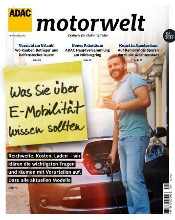 ADAC Motorwelt Juni 2019
