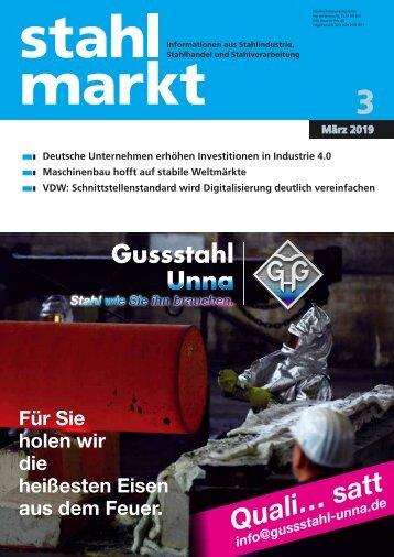 Leseprobe stahlmarkt 3.2019 (März)