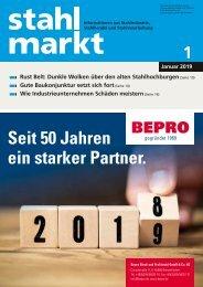 Leseprobe stahlmarkt 1.2019 (Januar)