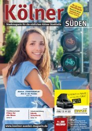 Kölner Süden Magazin Juni 2019