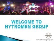 Welcome To NytroMen Group