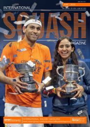 International Squash Magazine - Allam British Open Issue
